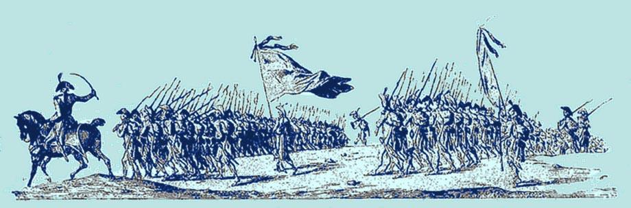 Armata in marcia