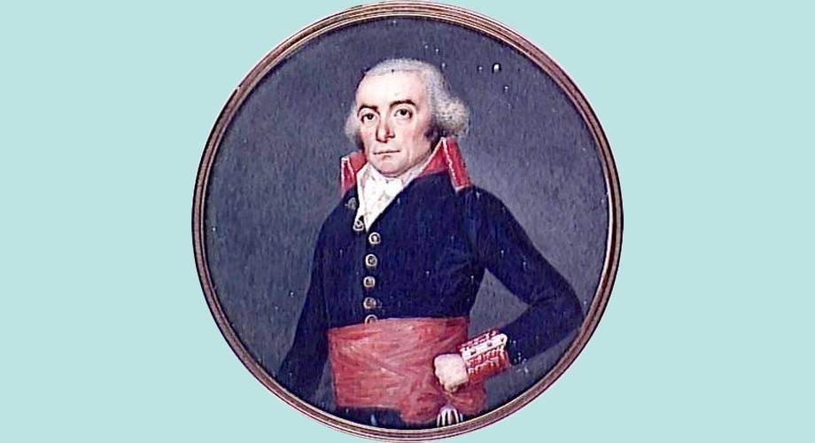 Storia della caduta di Venezia, il generale Antoine Balland, comandante francese della Piazza di Verona