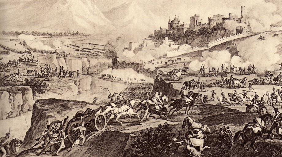 Storia di Venezia - La battaglia di Rovereto