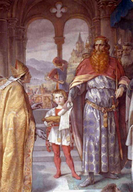 Storia di Venezia, L'Imperatore Federico Barbarossa in atto di vessare il clero con i suoi editti