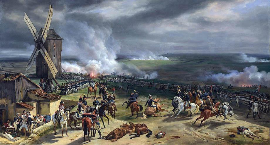 La Battaglia di Valmy del 1792