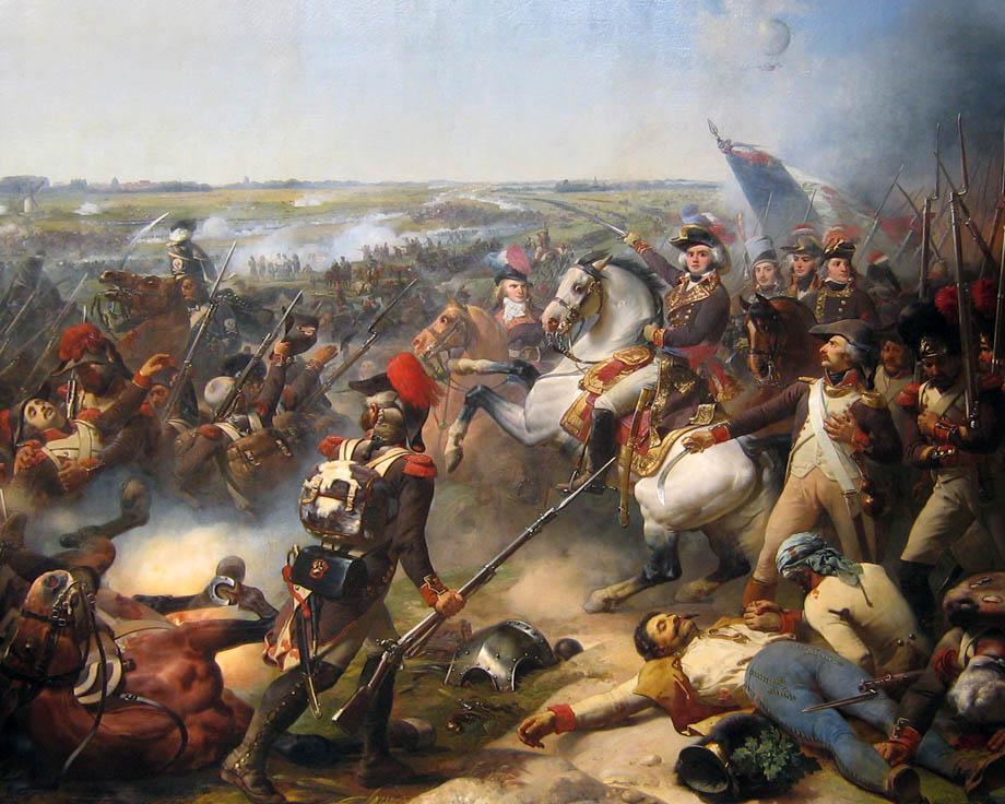 La Battaglia di Fiori, vittoria francese del generale Jourdan, 1l 26 Giugno 1794