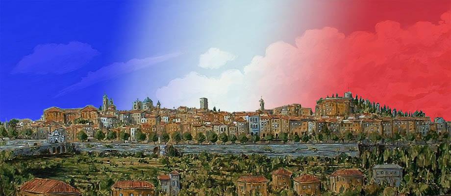 Storia di Venezia - Veduta di Bergamo