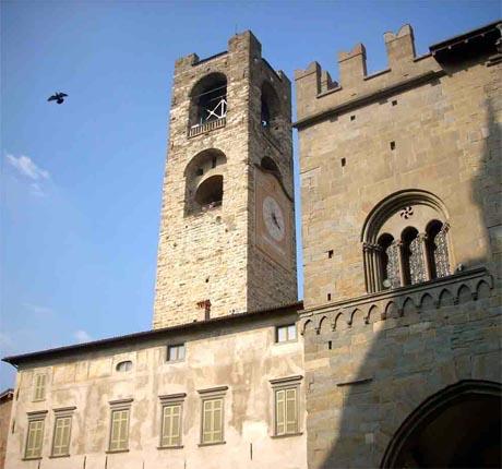 Storia di Venezia - Scorcio della Torre Civica di Bergamo