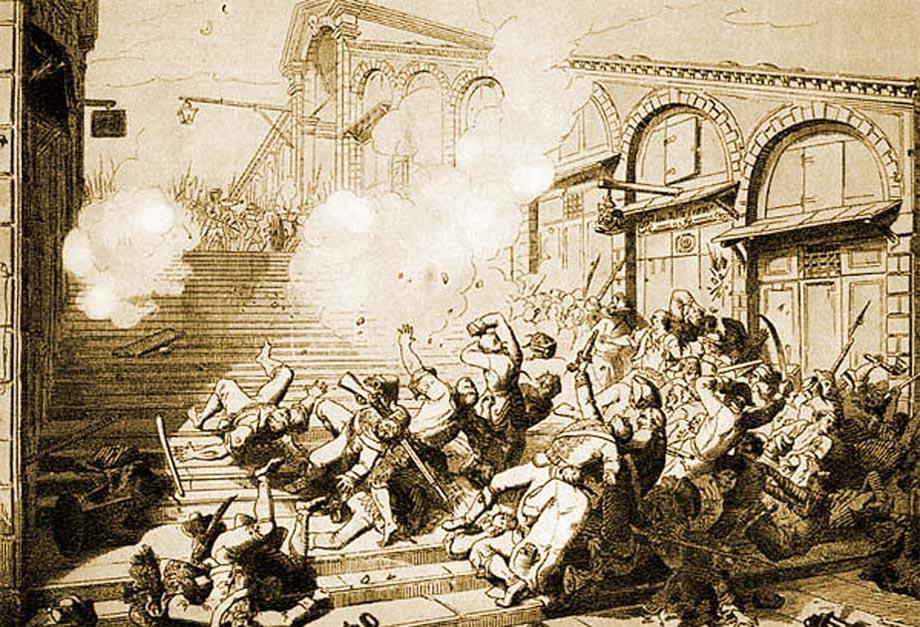 Storia di Venezia, rivolta di popolo contro l'abdicazione