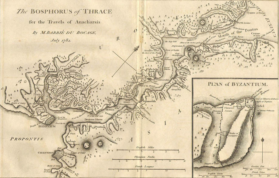 Storia di Venezia - Il Bosforo e Costantinopoli - click per ingrandire