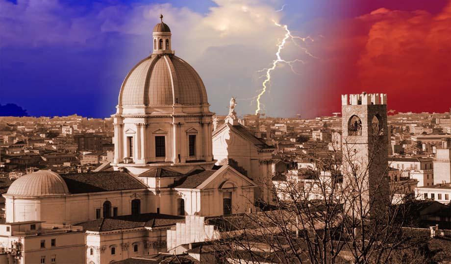 Storia di Venezia - Veduta di Brescia