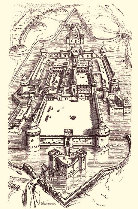 Il Castello di Milano XVI Sec.