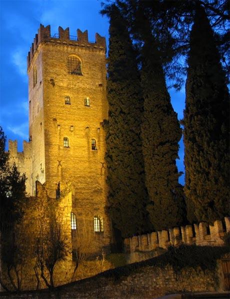 Storia di Venezia - Scorcio del Castello di Conegliano