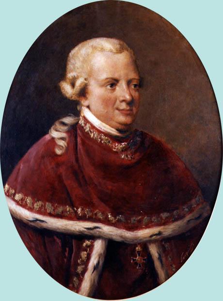 Storia di Venezia - Il conte Antonio Greppi in un ritratto di A. Sanquirico