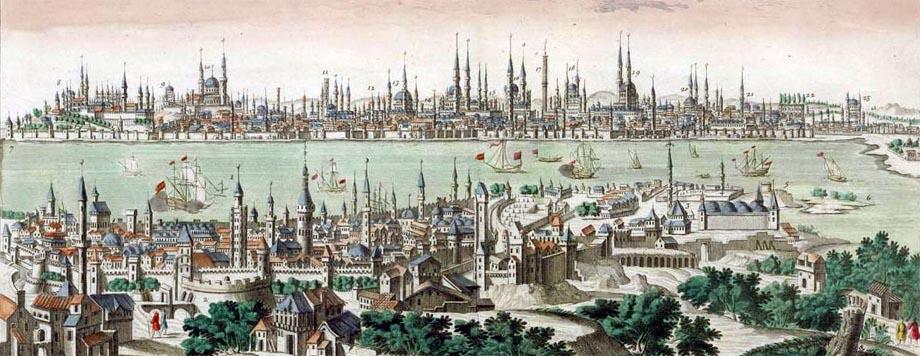 Veduta di Costantinopoli nel 1760