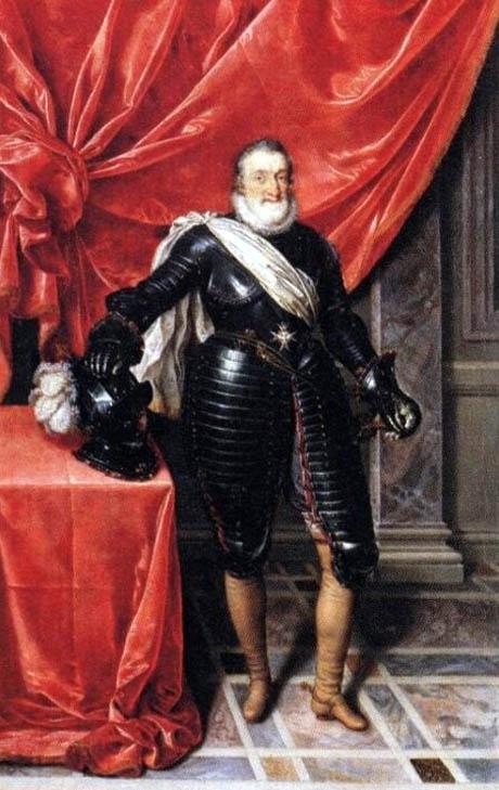 Storia di Venezia - Enrico IV di Francia in armatura