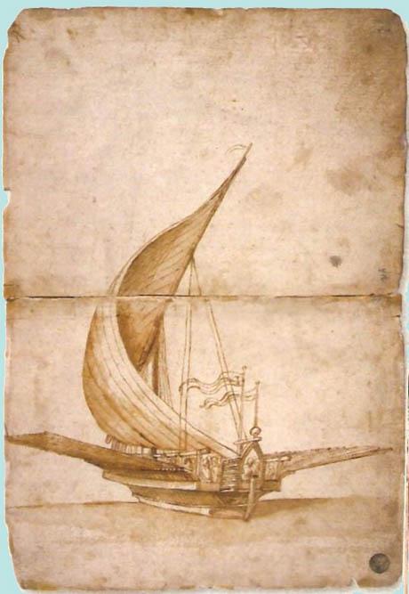 Storia di Venezia - Galea Veneziana alla vela