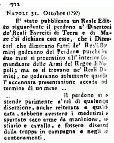 Storia di Venezia - Gazzetta Universale, n. 89 pubblicata Martedì 7 Novembre 1797