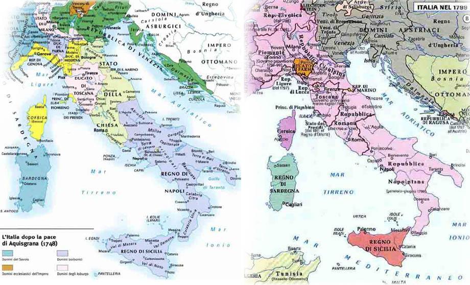 Storia di Venezia - Lo Stato Veneto dato all'Austria dalla Francia in cambio dei Paesi Bassi e del Reno