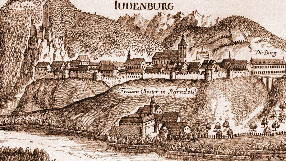 Storia della caduta di Venezia, Judenburg, dove Napoleone pose i Quartier Generale prima dei Preliminari di Leoben