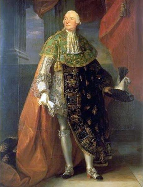 Luigi Filippo II duca d'Orleans, detto Filippo Egalité per la sua attiva partecipazione alla rivoluzione francese e alla decapitazione dei suoi stretti parenti sul Trono. Sarà a sua volta decapitato, ma suo figlio diverrà Re di Francia o meglio,