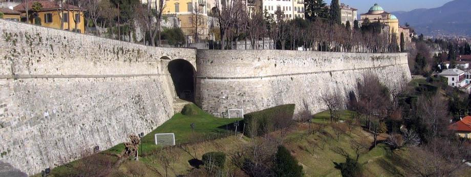 Storia di Venezia - Le Mura di Bergamo