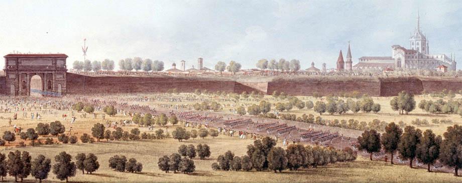 Napoleone entra a Milano il 15 Maggio 1796
