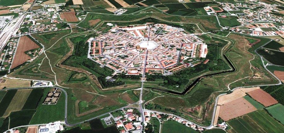 Storia di Venezia - La fortezza Veneziana di Palmanova in Friuli