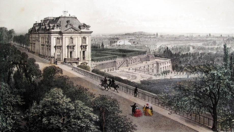 Veduta di Parigi nel XIX Secolo