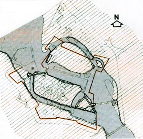 Storia di Venezia - Planimetria Fortezza di Peschiera del Garda