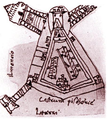 Storia di Venezia - La Fortezza di Peschiera del Garda in un appunto del cronista storico Veneziano Marin Sanudo