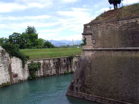 Storia di Venezia - Bastione Ovest della Fortezza di Peschiera