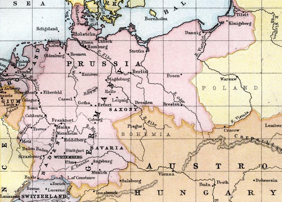 La Prussia nel 1876