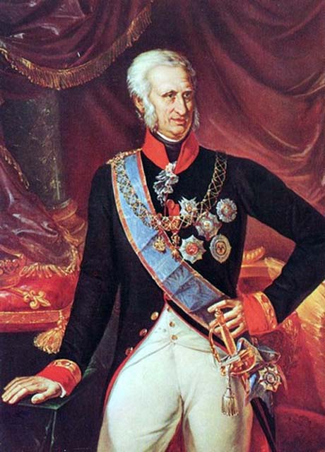Il Re di Napoli, Ferdinando I di Borbone