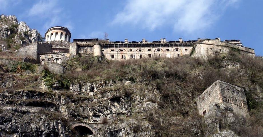 Storia di Venezia - La Rocca d'Anfo in Val Sabbia