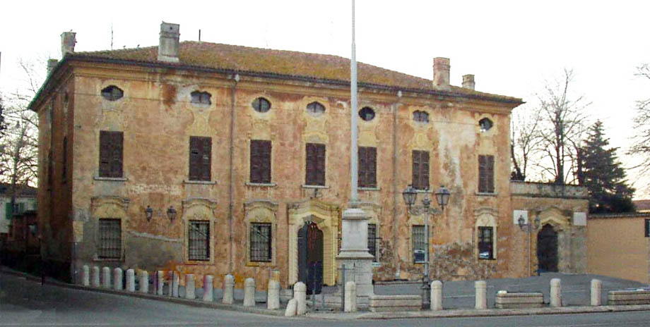 Storia di Venezia - Villa Gobio a Roverbella, dove Napoleone stabilì il suo Quartier Generale