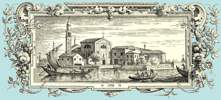 Storia di Venezia - Isole-monastero Veneziane: San Giorgio in Alega