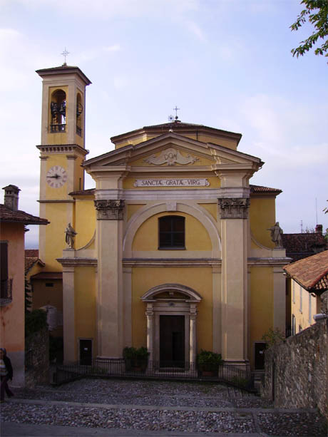 Storia di Venezia - Chiesa di Santa Grata in Vitis, a Canale di Bergamo