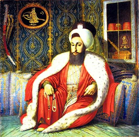 Selim III, Imperatore Ottomano nel 1793