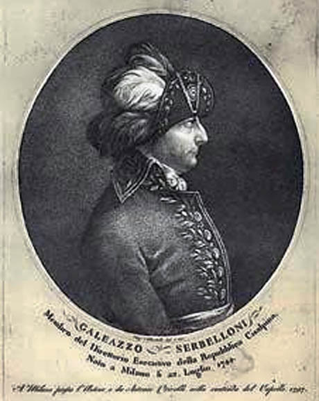 Storia di Venezia - Gian Galeazzo Serbelloni nel 1797