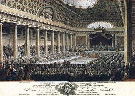 Un'altra immagine degli Stati Generali in Francia: la Cerimonia di apertura