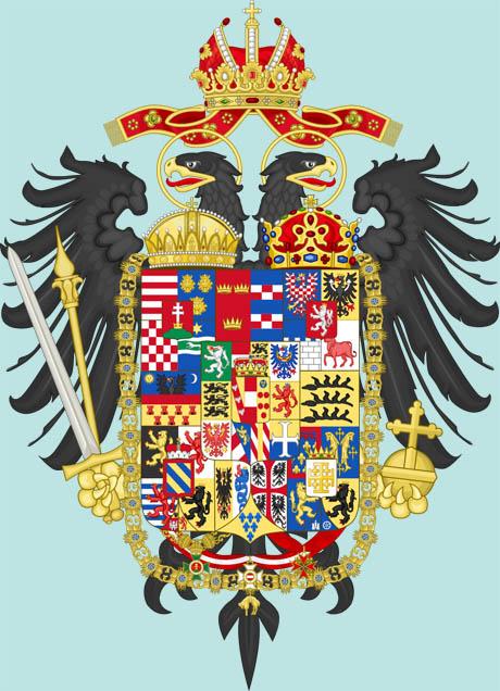 Stemma di Casa d'Austria, Francesco II