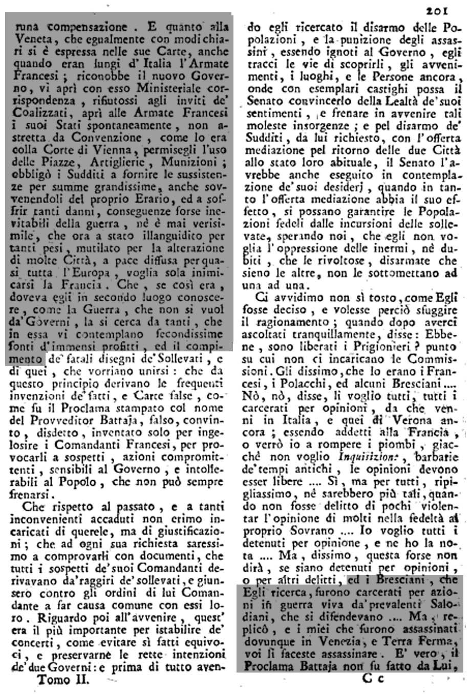 Storia di Venezia, pag. 303 della Raccolta
