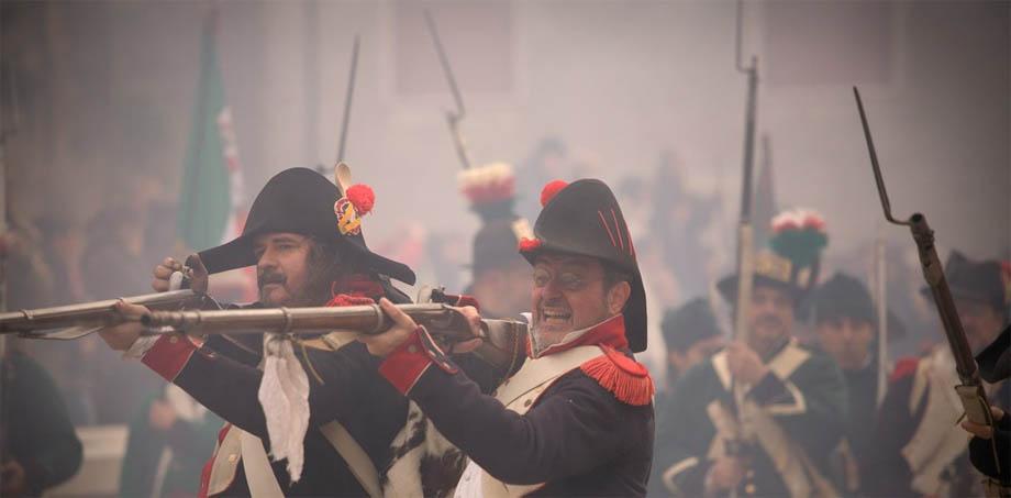 Storia di Venezia - Truppe Francesi in una ricostruzione storica