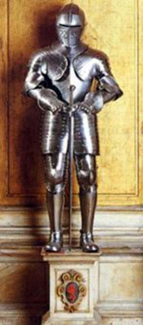 Storia di Venezia - L'armatura di Enrico IV