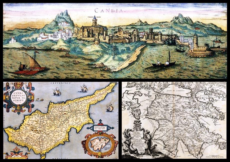Storia di Venezia - Regni di Cipro, Candia e Morea