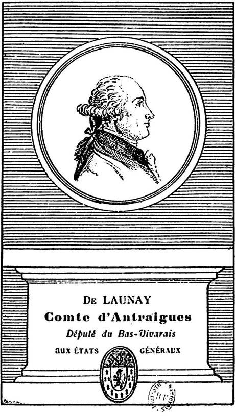 Storia di Venezia - Emmanuel Louis Henri Alexandre de Launai, comte d'Antraigues