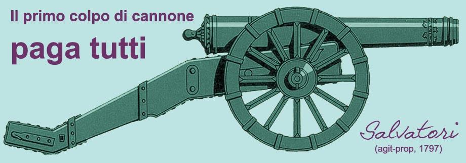 Storia della caduta di Venezia, il primo colpo di cannone paga tutti